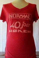 Dames-shirt-Normaal-40-joar-Høken